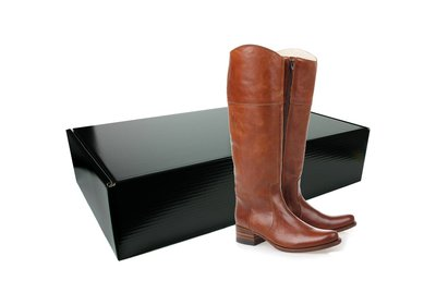 Verzenddoos laarzen Zwart