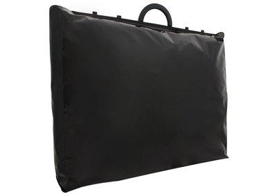 Plastic beugel draagtas Zwart