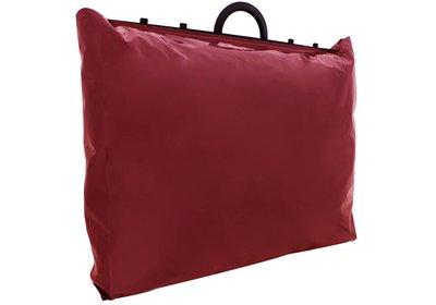 Plastic beugel draagtas Bord.Rood
