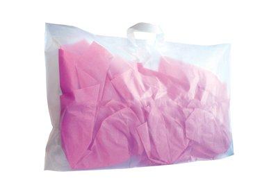 Plastic lus draagtas extra groot Semi-transparant