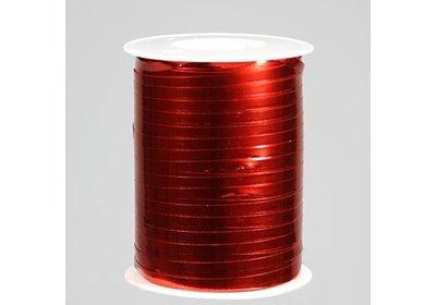 Krullint 5mm 500m metallic rood