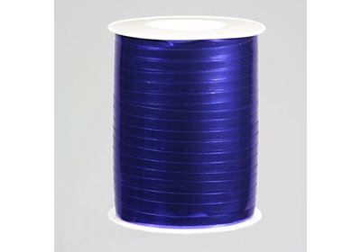 Krullint 5mm 500m metallic blauw