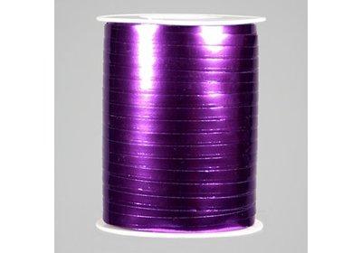 Krullint 5mm 500m metallic paars