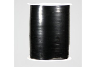 Krullint 5mm 500m metallic zwart