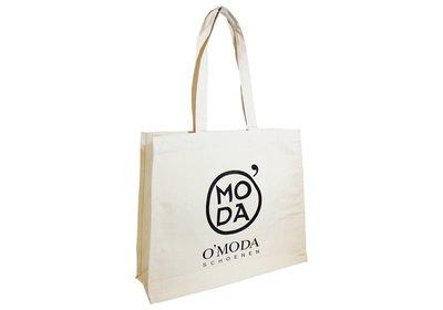 Canvas eco draagtas bedrukt met uw logo ca.10 werkdagen 2.3