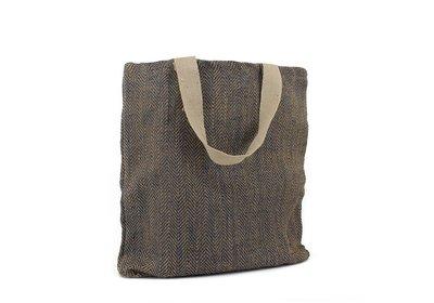 Juca Eco Bag met canvas draaglus zwart