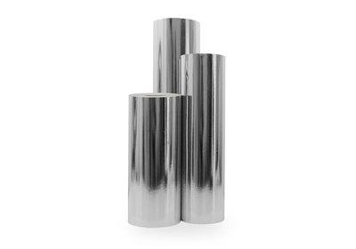 Kadopapier 30/50 cm 150 meter Metallic Zilver