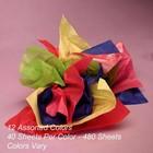 Vloeipapier colormix