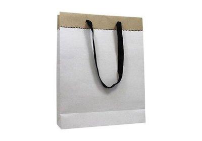 Papieren Eco koordtas bedrukt met uw logo ca.10 werkdagen 4.12