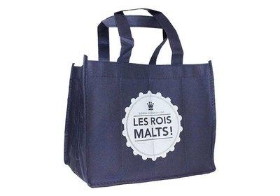 Non Woven wijnfles tassen bedrukt met uw logo ca. 10 á 12 weken