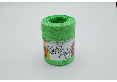 Raffialint 15mm 200m mint-groen