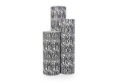Kadopapier 30/50 cm 250 meter design zebra