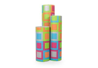 Kadopapier 30/50 cm 250 meter design blok
