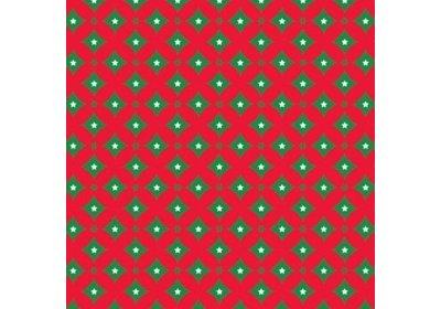 Kerst kadopapier 30/50 cm 200 meter