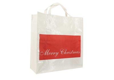 PP shopper Kerst merry christmas