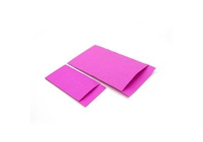 Luxe Accessoires zakje á 250 stuks Hot pink Kraft