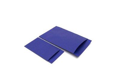 Luxe Accessoires zakje á 250 stuks blauw Kraft