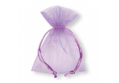 Organza zakjes lila á 50 stuks