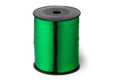 Krullint 10mm 250m metallic groen