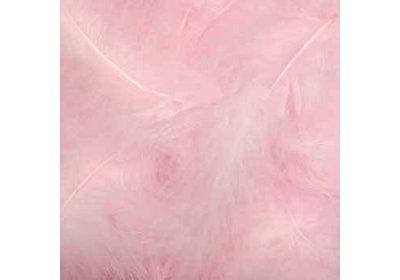 Veertjes in box baby roze