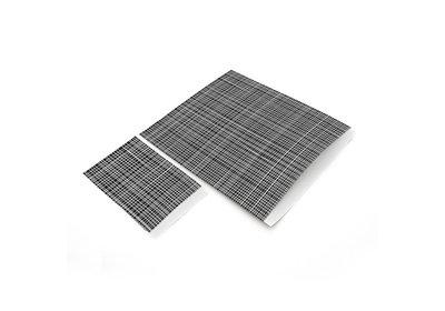 Luxe Karft zakjes White lines á 250 stuks