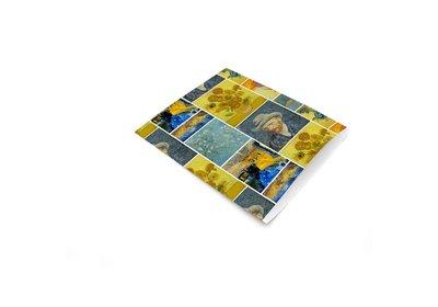 Luxe Kraft zakjes Van Gogh á 250 stuks
