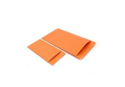 Luxe Accessoires zakje á 250 stuks oranje Kraft