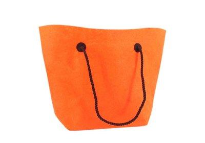 Vilt draagtas luxe shopper Oranje