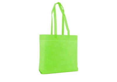 Non Woven Strandtas Apple green
