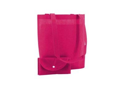 Non Woven Shop-in-Bag Fuchsia