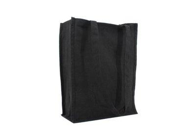 Canvas Eco Luxe draagtas Zwart