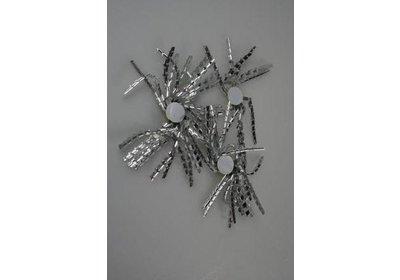 Krullen zilver100 stuks