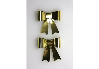Vlinderstrikje goud 50 stuks
