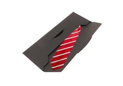 Papieren verzend envelop - stropdas