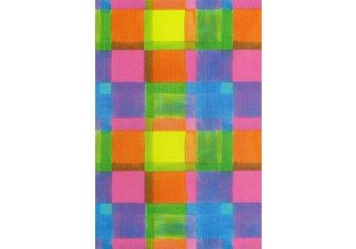 Kadopapier 30/50 cm 250 meter design Squares Recycled paper