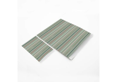 Luxe Karft zakjes Golden stripes á 250 stuks