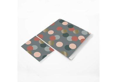 Luxe Karft zakjes Big confetti á 250 stuks