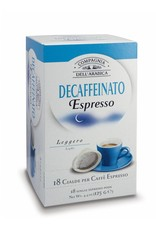 Compagnia dell'Arabica® 18 Pure Arabica Decaffeinato ESE-Servings (Pods)