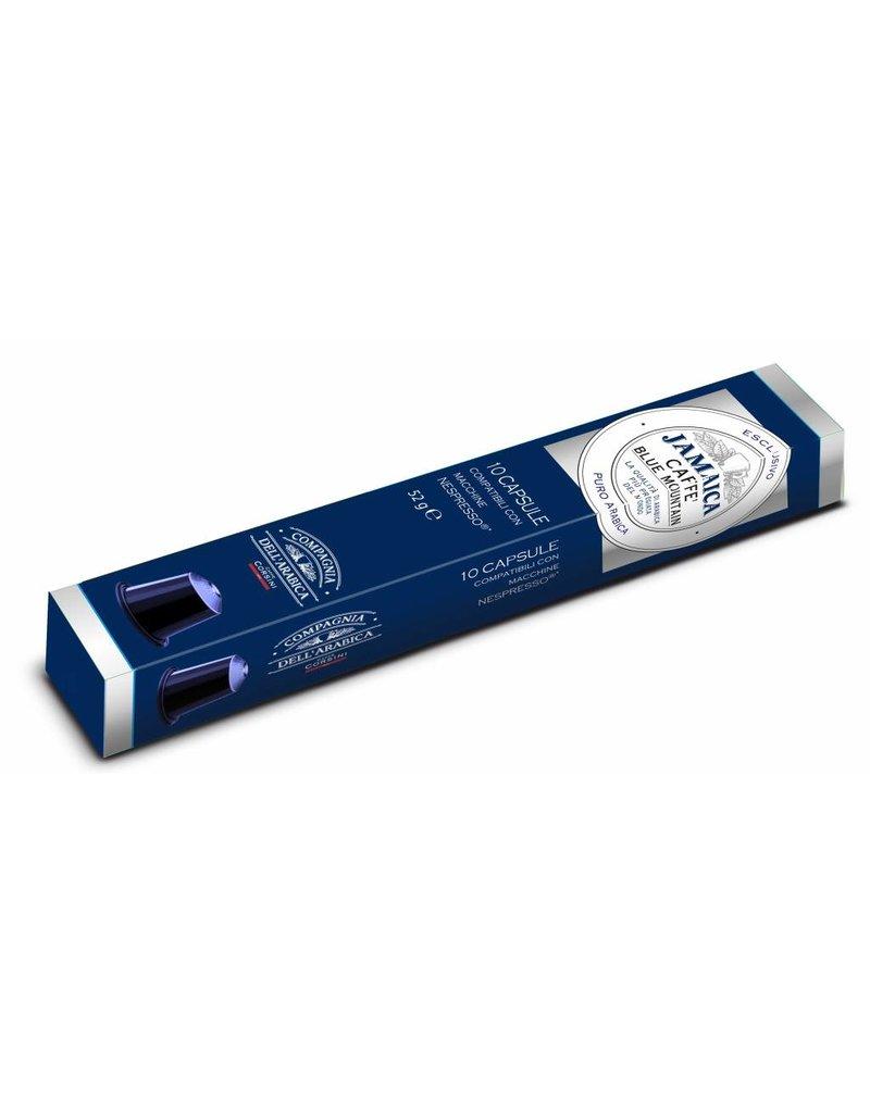 Compagnia dell'Arabica® Jamaica Blue Mountain 'Single Origin' Exclusieve espressocapsules 10 stuks