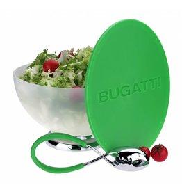Bugatti Primavera & Mollakiss: Saladeschaal met slatang in appelgroen