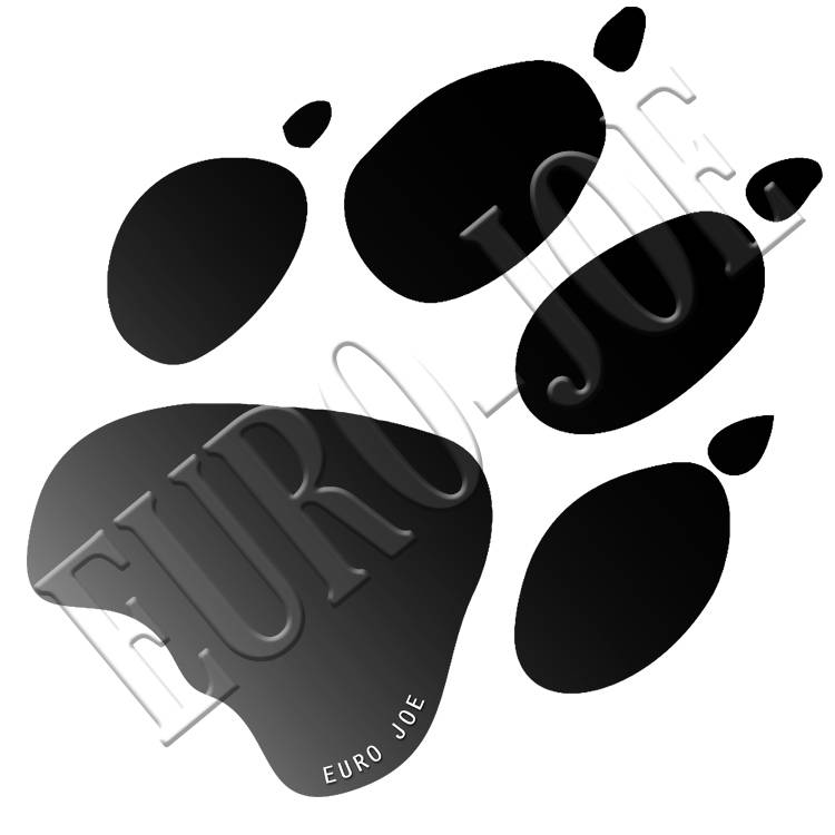 Black dog paw logo thecheapjerseys Images