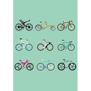 Druck A3 - Fahrräder
