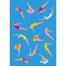 crissXcross Druck A3 - Schwimmerinnen