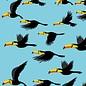 crissXcross Druck - Flying Tucan