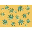 crissXcross Postkarte - Cannabis