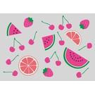 luminous Postkarte - Früchte