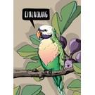 Postkarte - Lou - Einladung
