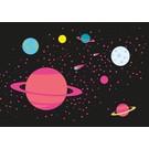 luminous Postkarte -Milky Way