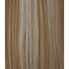 Hairworkxx Clip in Hairextensions Kleur 18/613 Nature/White Blonde