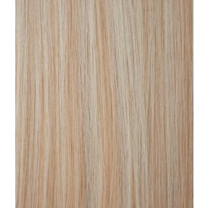 Hairworkxx Clip in Hairextensions Farbe 16/613 Ash / weiß Blond